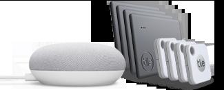 Mate + Slim 8 + Google Nest Mini (Squircle)