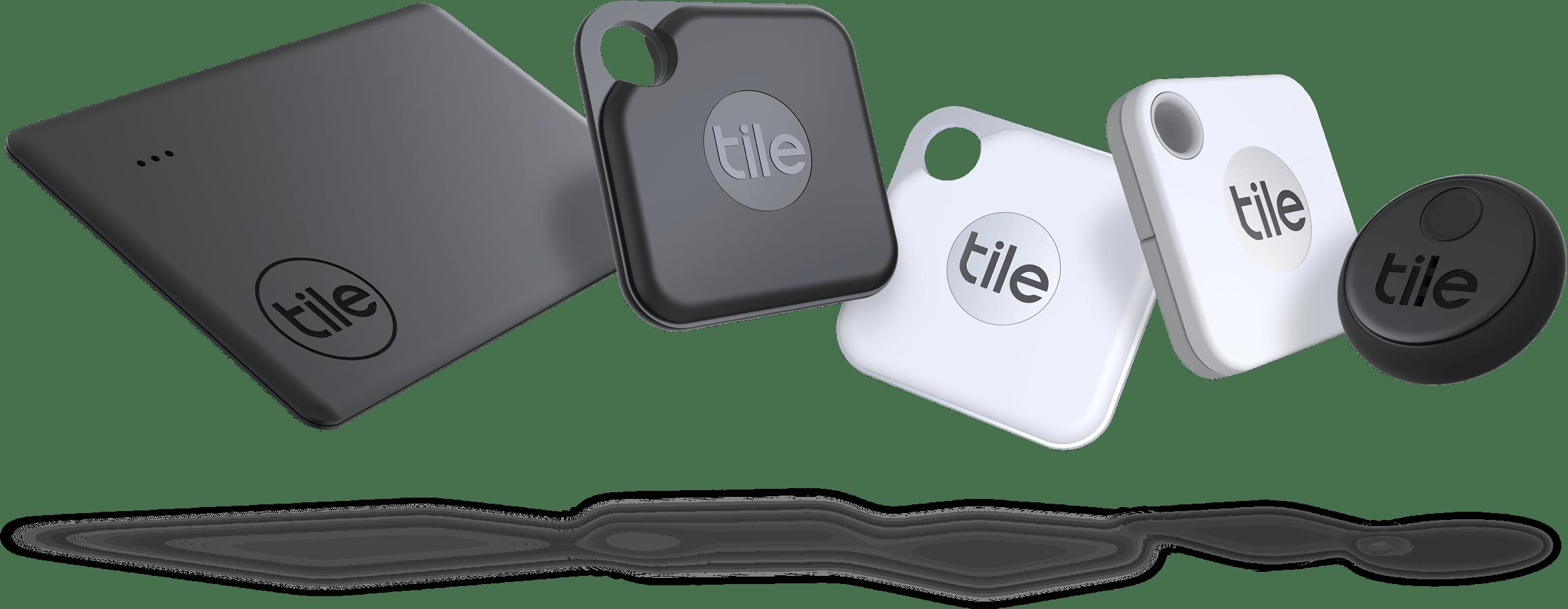 Tile Familie– Slim, Pro, Mate und Sticker
