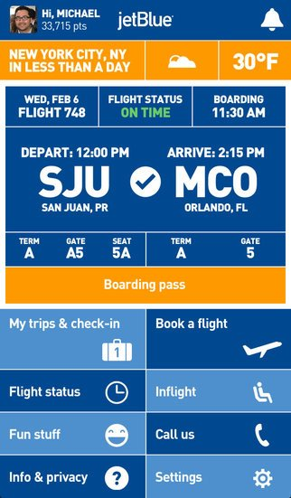 Jet Blue App Travel