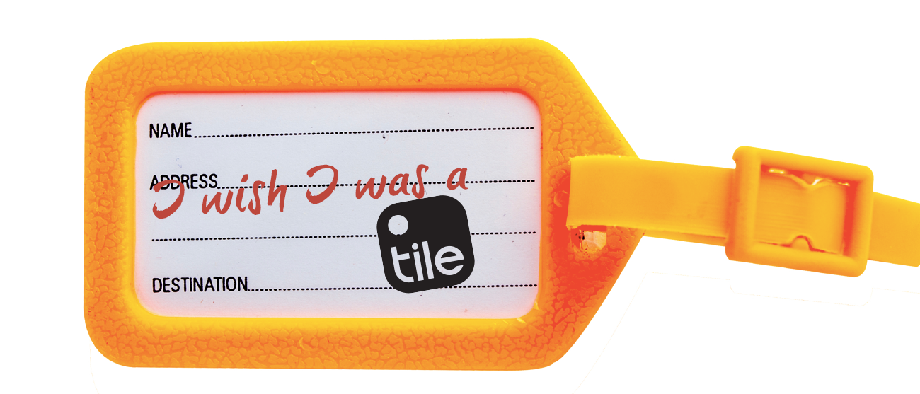 Travel Tips Luggage Tag