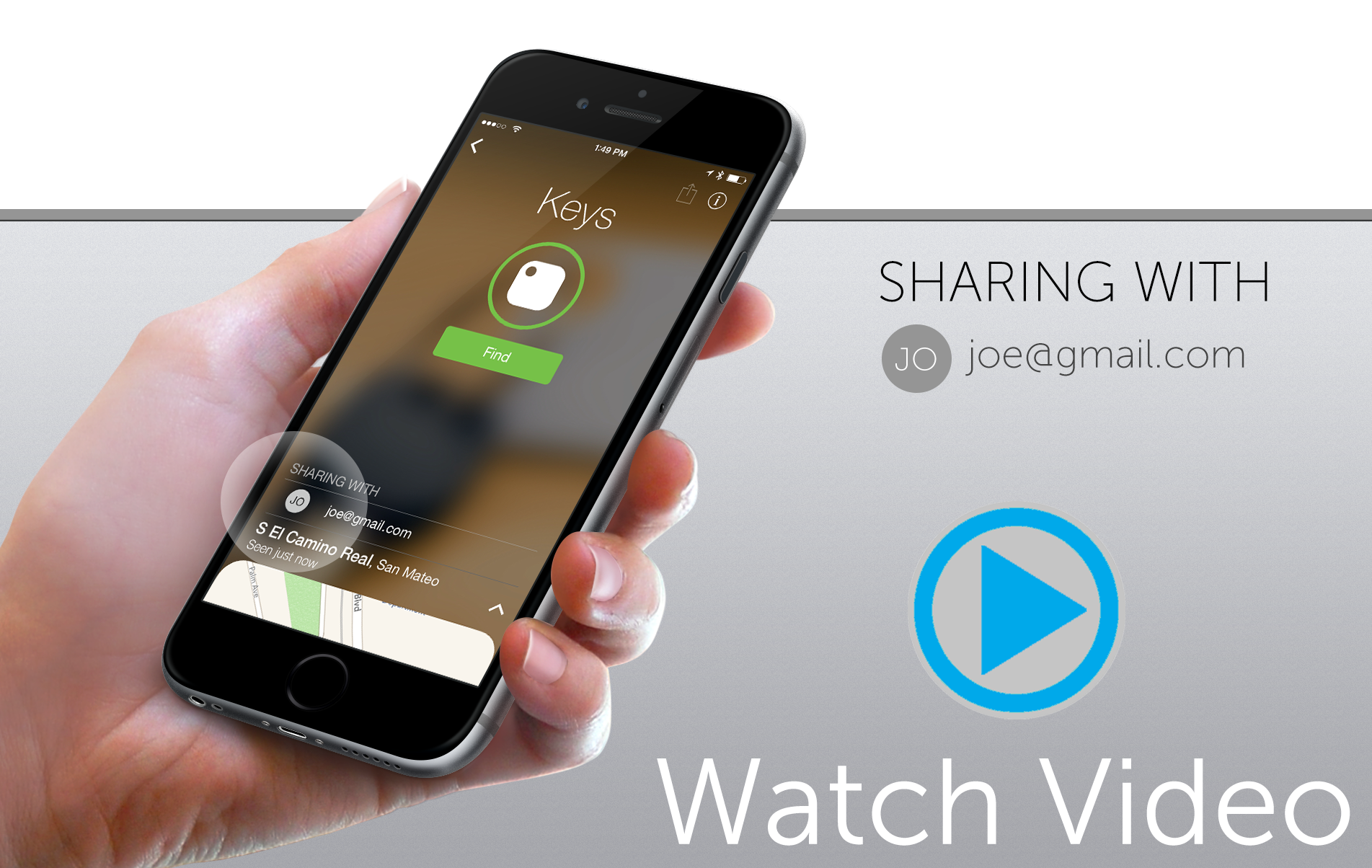 Tile Video - Sharing Mockup