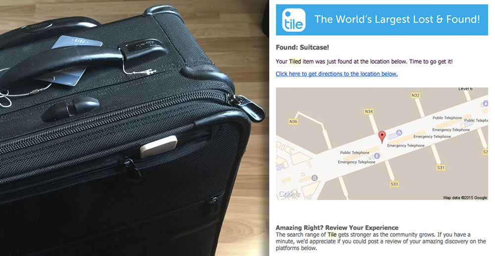 Lost Luggage Tracker - Hong Kong