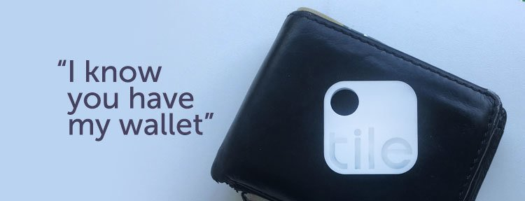 Wallet Tracker Tile Catches Thief March