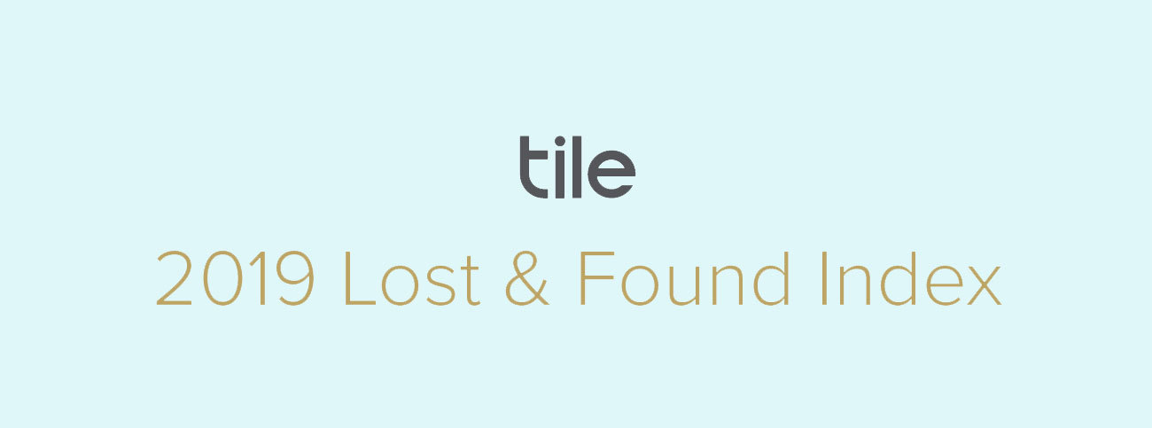Tile Lost and Found Index Infographic - header