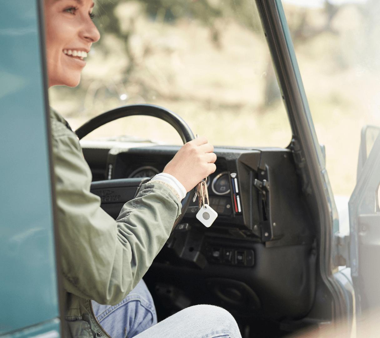 Tile bluetooth trackers help find lost keys