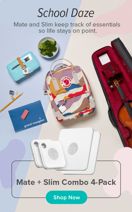 Find Your Keys, Wallet & Phone with Tile's App and Bluetooth Tracker