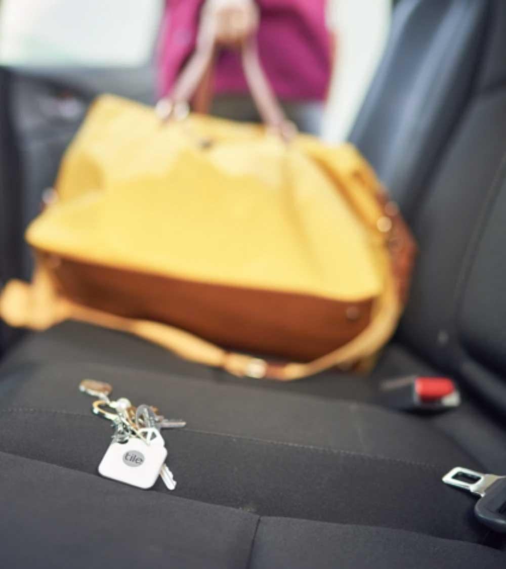 Clés dans une voiture